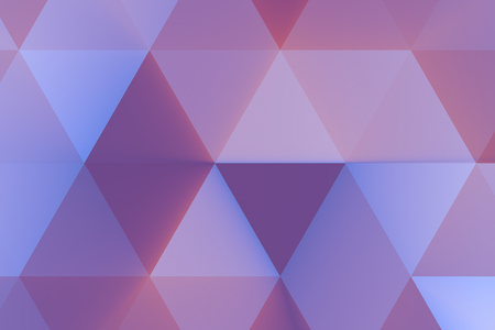 abstract violet and pink geometric multicolor triangles pattern with seamless, texture concept Standard-Bild - 107784244