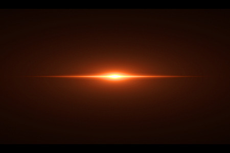 gold warm color bright lens flare rays light flashes leak movement for transitions on black background,movie titles and overlaying Standard-Bild - 107784361