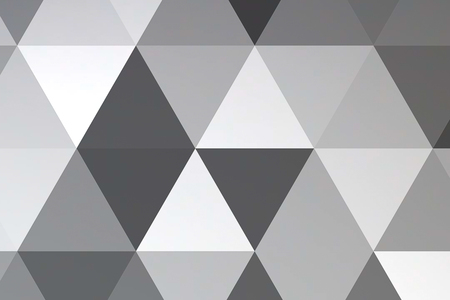 abstract black grey and white geometric multicolor triangles pattern with seamless, texture concept Standard-Bild - 107661670