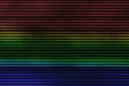 multicolor vhs glitch noise background realistic flickering, analog vintage TV signal with bad interference, static noise background, overlay ready