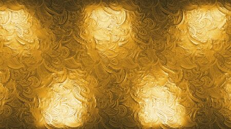abstract golden royal reflectors glitter and sparkles seamless loop metallic effect background, gold holiday happy new year