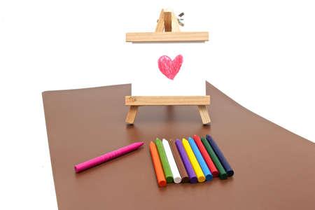 draw crayons Stock Photo - 22081416