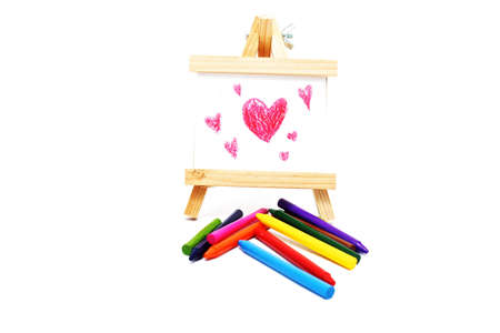 draw crayons photo