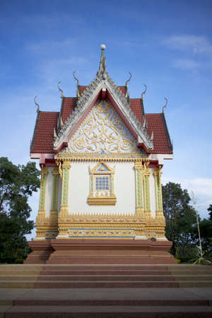 temple thailand the blue sky