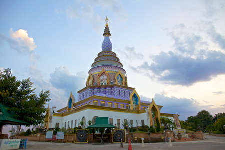 Buddhist temples in Chiang Mai Thailand Stock Photo