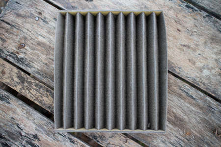 Car air filter is dirty  photo