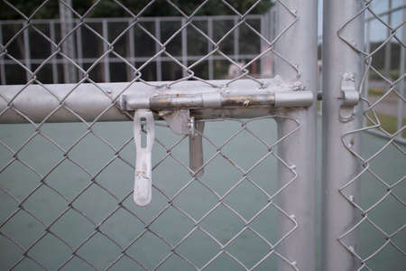 puertas de hierro: Puertas de hierro clave Foto de archivo