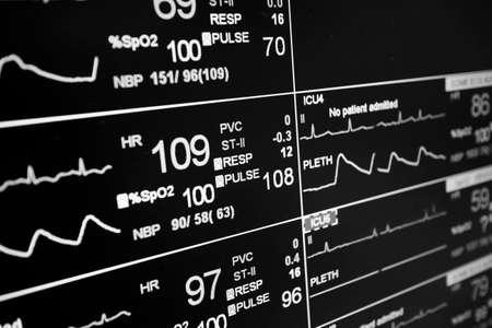 Patient monitor icu pulse photo