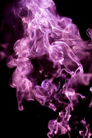 smoke lighting abstract Stock Photo