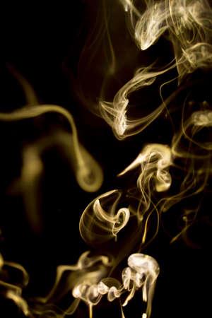 smoke lighting abstract photo