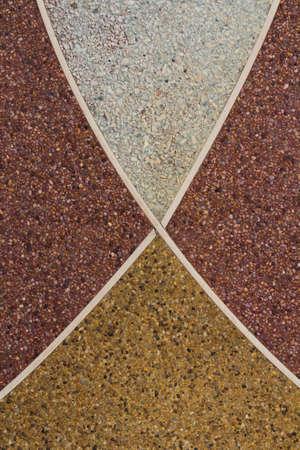 Stone floor corridor photo