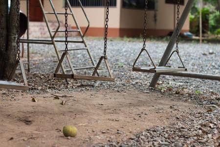 Playground swings photo
