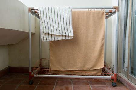 Clothes line photo