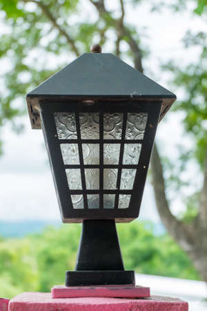 lamp close up photo