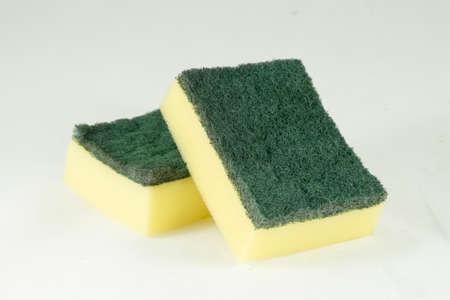 Dishwashing sponge photo
