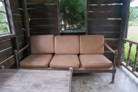 old sofa photo