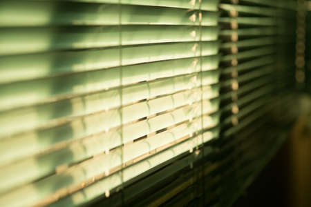 Plastic curtain.