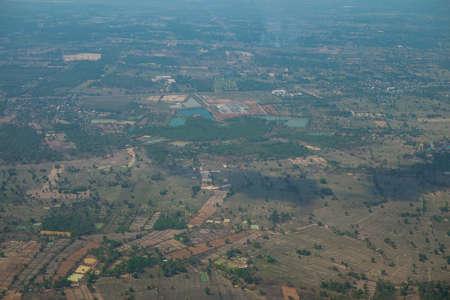 rural development: bird eye view town