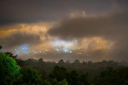 dark sky: fog city