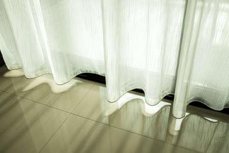 Curtain light Stock Photo