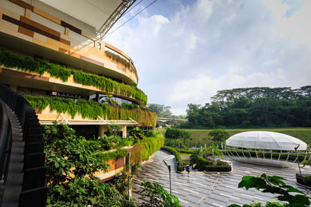 Singapour-23 MARS 2019:Singapour SAFRA kidz amaze building dans la région de punggol