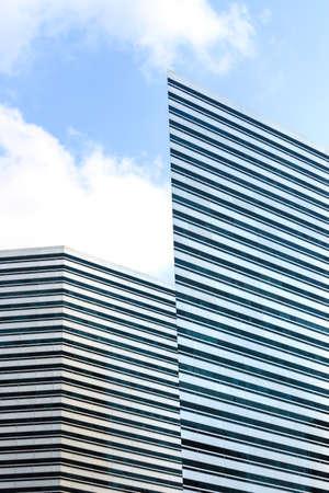 Singapore-09 NOV 2019:singapore landmark building the gateway facade view