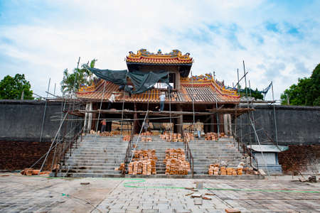 Building the temple