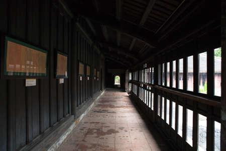 Lobby of DaiNoi castle, Hue province, VietNam