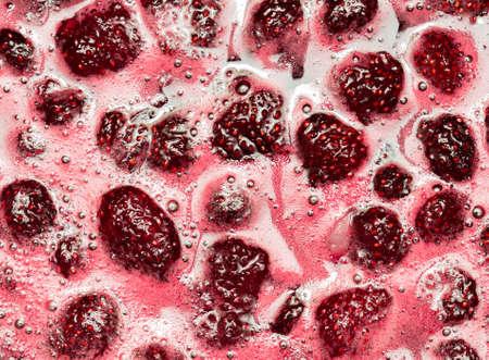 strawberry jam, food theme background