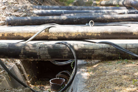 corrosion: replacement of water pipes in the city