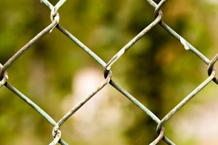 enclose: Steel wire mesh fence