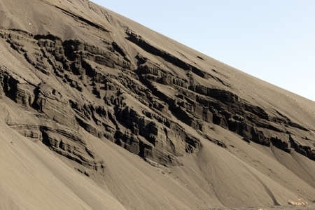 MILLION: 2 million tons of lead sludge in the territory of the Southern Kazakhstan region Stock Photo