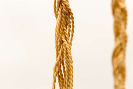 motouz: Rope isolated on white background