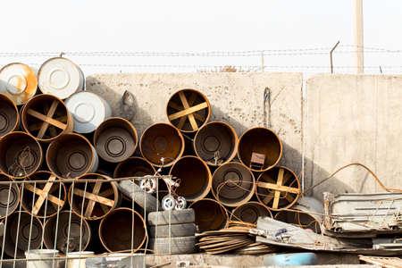 scrap-metal Stock Photo