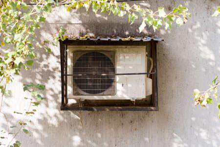 air conditionné extérieur de la maison Banque d'images