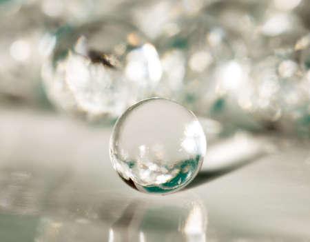 Bolas del hidrogel