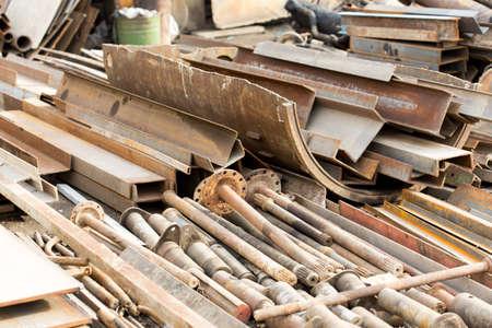 metal grate: scrap-metal Stock Photo
