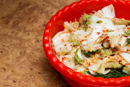 korean salad: Kimchi salad of korean food traditional Stock Photo