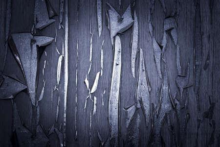 오래된 보드. 시간이 지남에 라미네이팅 오래 된 보드 및 금이, 나무 질감, 배경, 다채로운, 금이, 빈티지, 추상, 그런 지에서 지워집니다. 스톡 콘텐츠
