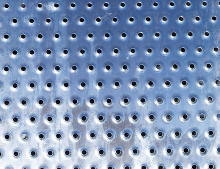 macro: holes on iron macro