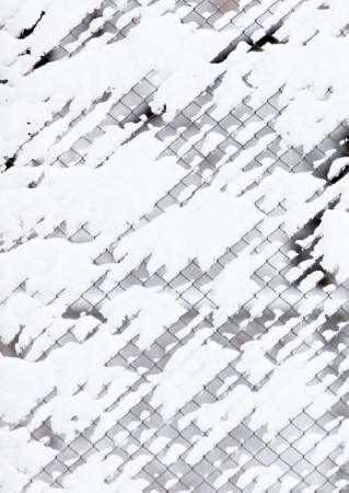 Hintergrundrasterfeld Ineinander greifen, Winterschnee Standard-Bild - 92195651