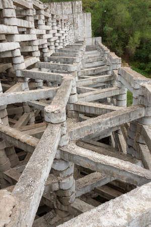 old dam. G. Almaty.Kaskelen. Kazakhstan Фото со стока - 105672068