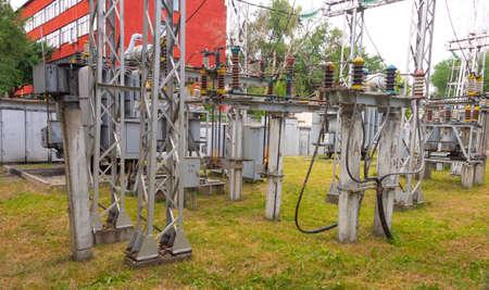 station, electric transformer