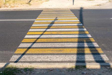 pedestrian crossing, be careful!