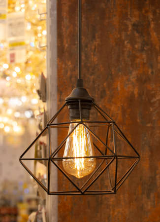 Decorative bulbs in vintage style Edison