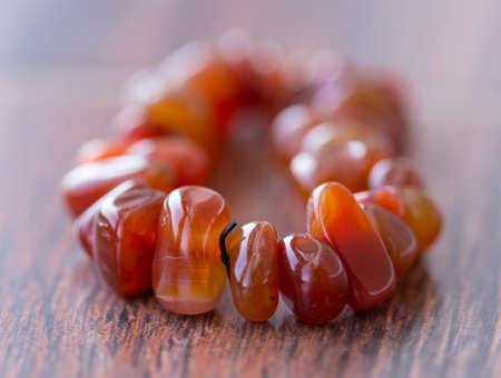 beads on the table, jewelry