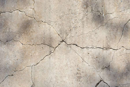 cracked concrete cement wall in industrial building, great for your design and texture background 版權商用圖片