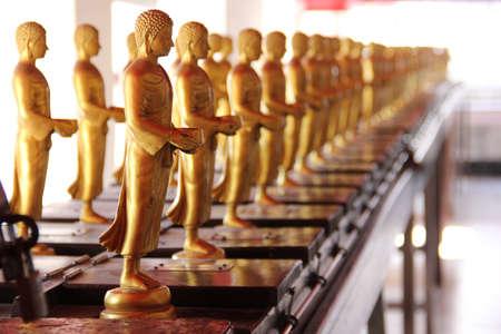 golden buddha images photo