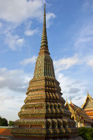 beautiful pagoda in thailand Stock Photo