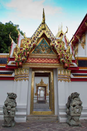 temple gates in thailand